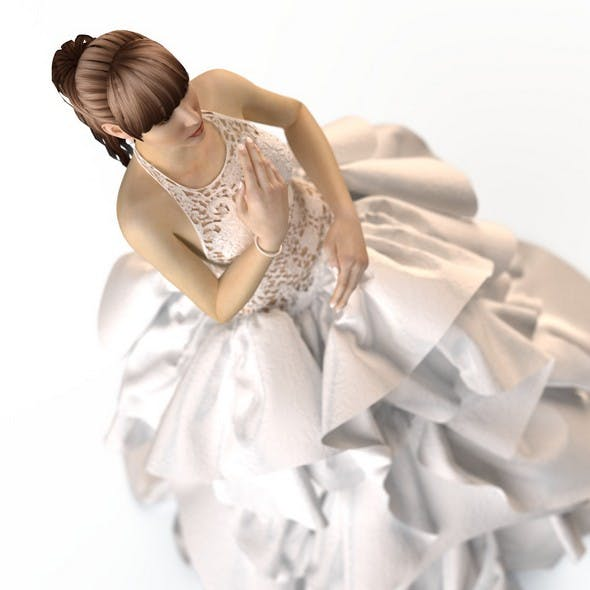Wedding Evening dress 2