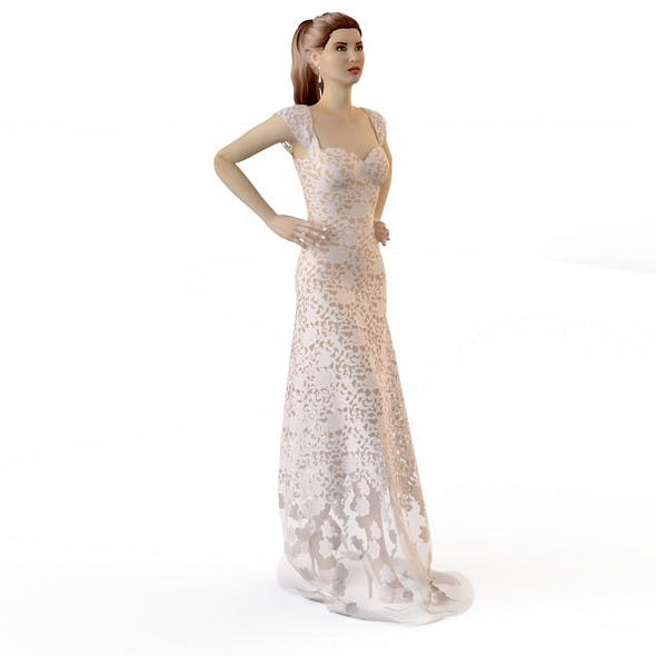 Wedding Evening dress 5