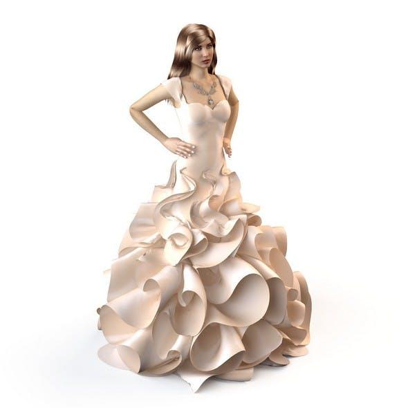 Wedding Evening dress 7