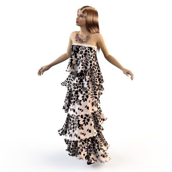 Summer dress sundress 2 - 3DOcean Item for Sale