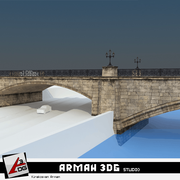 Bridge Meidan - 3DOcean Item for Sale