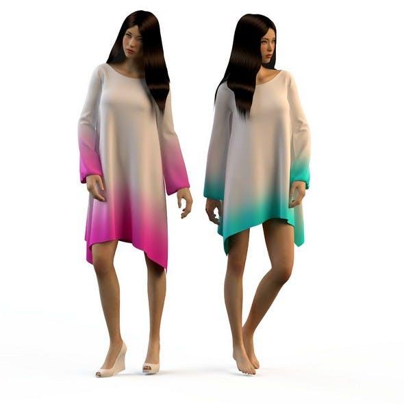 Women in dresses 2