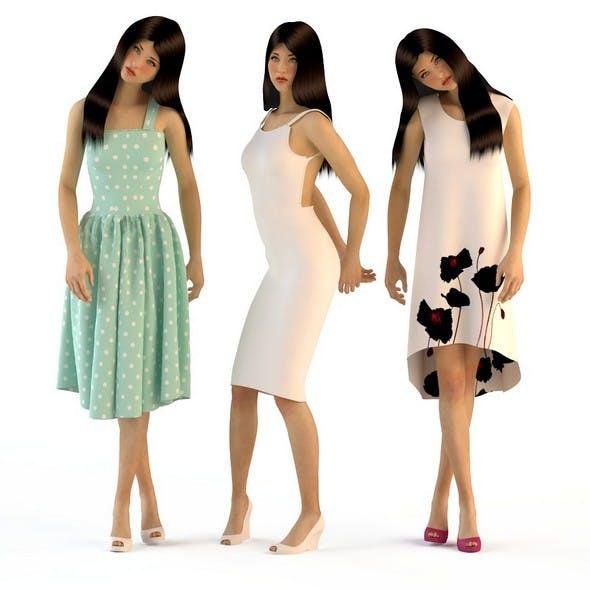 Women in dresses 3