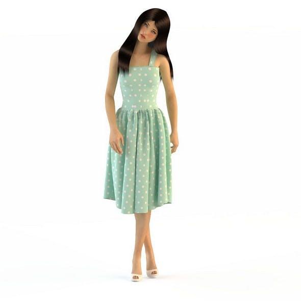 Women in dresses 3 - 3DOcean Item for Sale