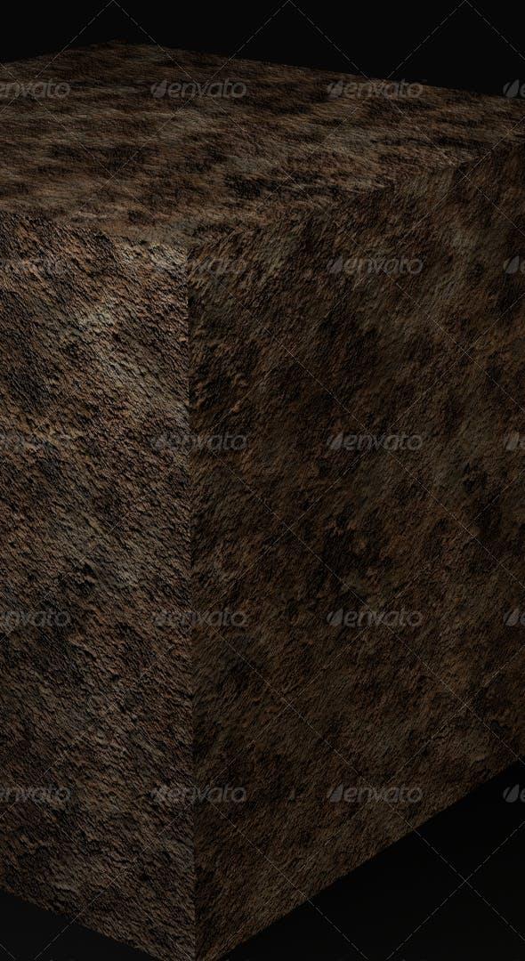 Cliff Rock Terrain - Tileable - 3DOcean Item for Sale