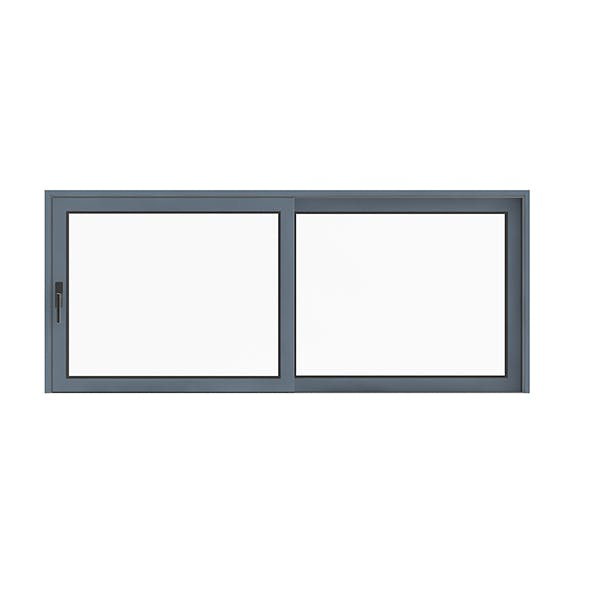 Metal Window (155 x 370cm) - 3DOcean Item for Sale