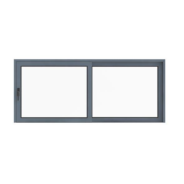 Metal Window (155 x 370cm)