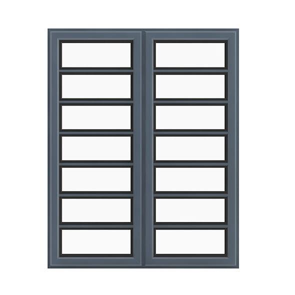 Metal Window (268 x 134 cm)