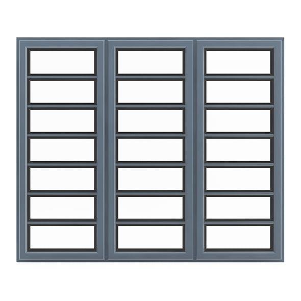 Metal Window (268 x 200 cm) - 3DOcean Item for Sale