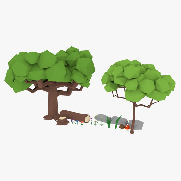 Forest Asset - 3DOcean Item for Sale