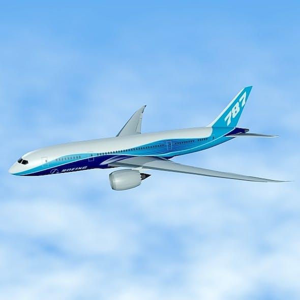 Boeing 787 civilian jet