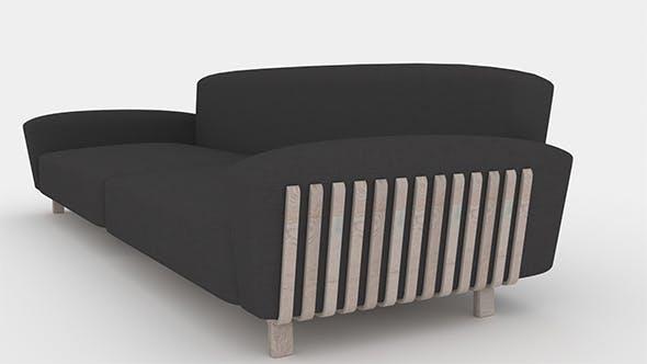 Sofa - 3DOcean Item for Sale