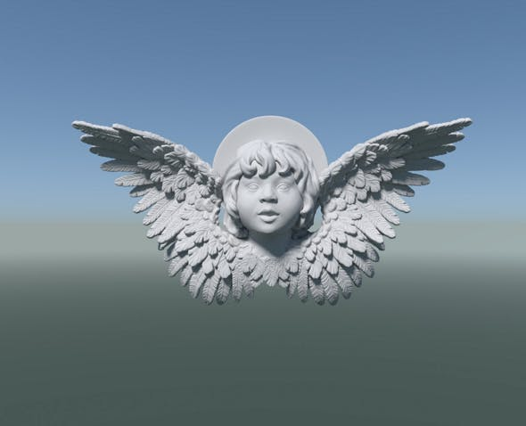 Cherub Angel - 3DOcean Item for Sale