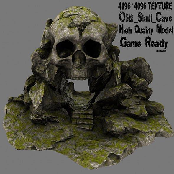 skull cave 2 - 3DOcean Item for Sale