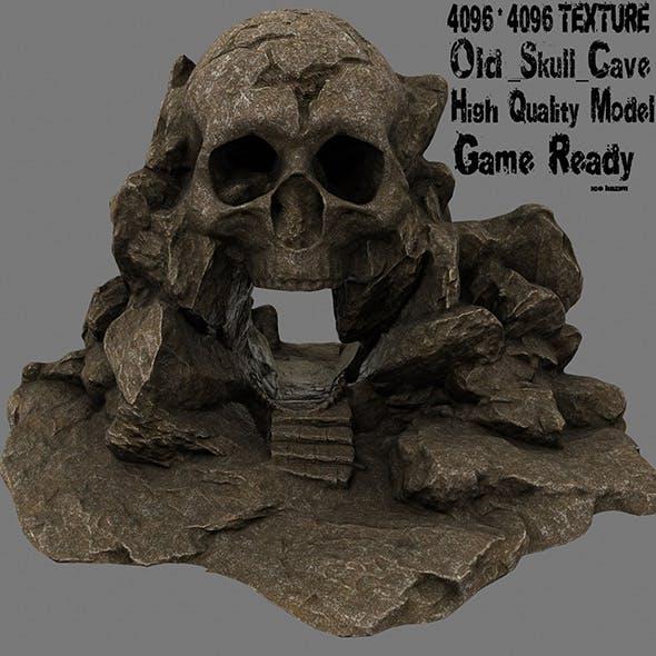 skull cave 4 - 3DOcean Item for Sale