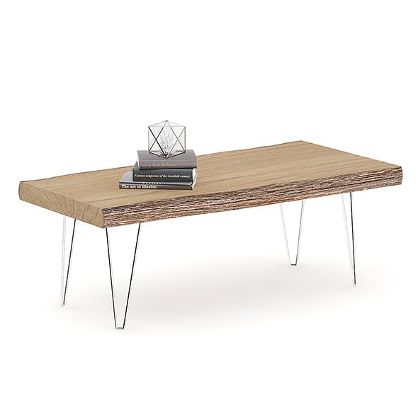 Rough Table with Books - 3DOcean Item for Sale