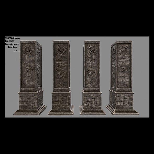 pillar 3 - 3DOcean Item for Sale