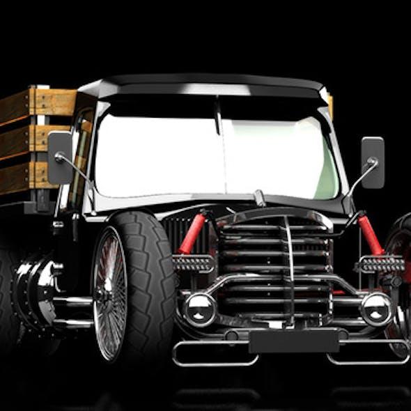hot rod truck