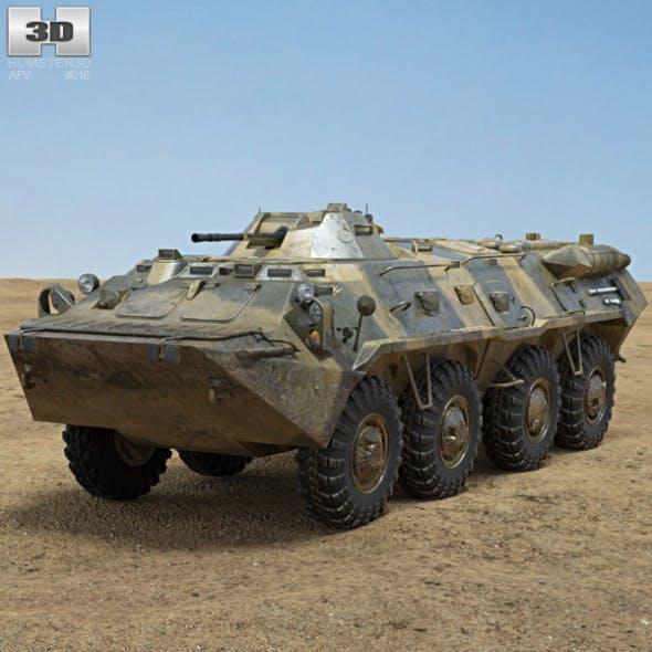 BTR-80 - 3DOcean Item for Sale