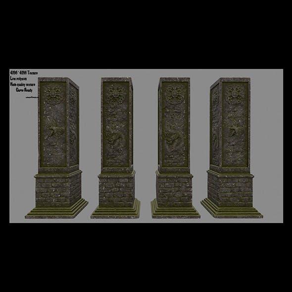 pillar 5 - 3DOcean Item for Sale