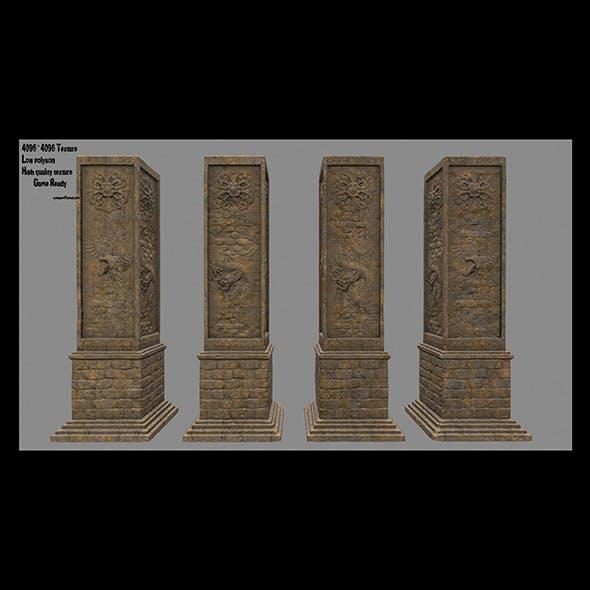 pillar 6 - 3DOcean Item for Sale