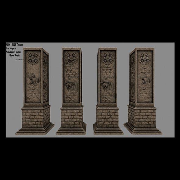 pillar 8 - 3DOcean Item for Sale