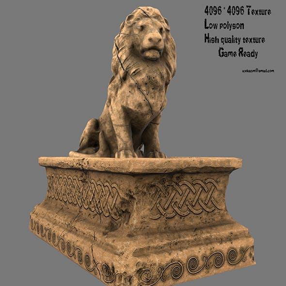 Lion Statue 6