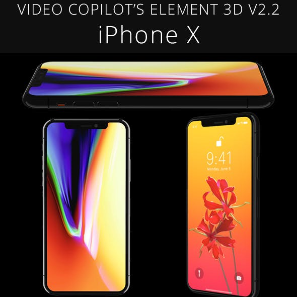 Element 3D Apple iPhone X