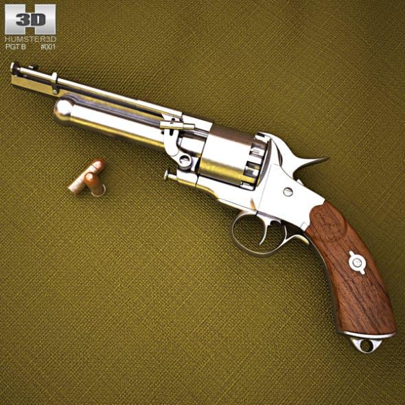 LeMat Revolver - 3DOcean Item for Sale