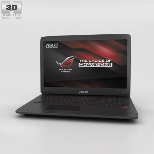 Asus ROG G751JT - 3DOcean Item for Sale