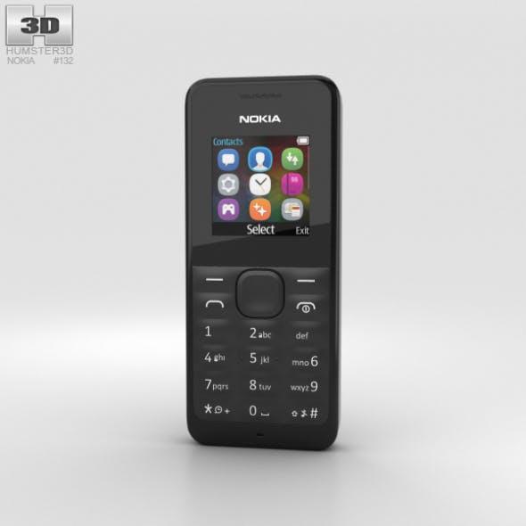 Nokia 105 Black - 3DOcean Item for Sale