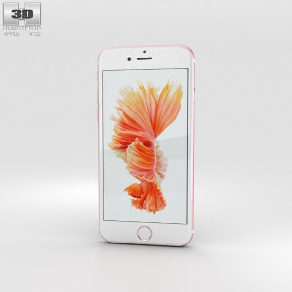 Apple iPhone 6s Rose Gold - 3DOcean Item for Sale