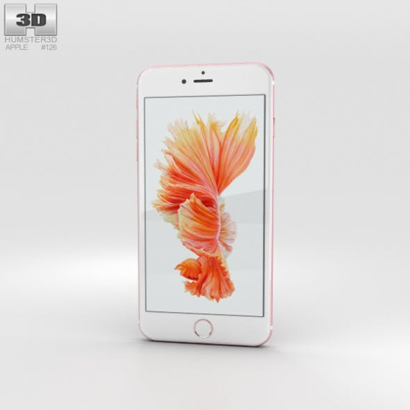 Apple iPhone 6s Plus Rose Gold - 3DOcean Item for Sale