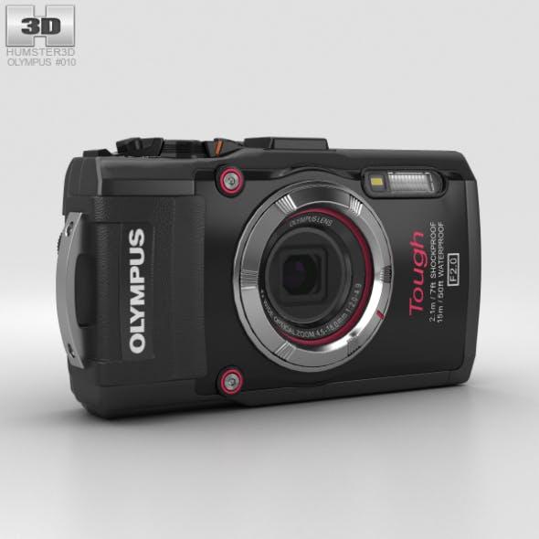Olympus Tough TG-3 Black - 3DOcean Item for Sale