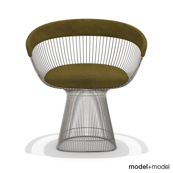 Knoll Platner armchair - 3DOcean Item for Sale