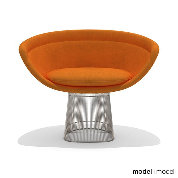 Knoll Platner lounge chair - 3DOcean Item for Sale