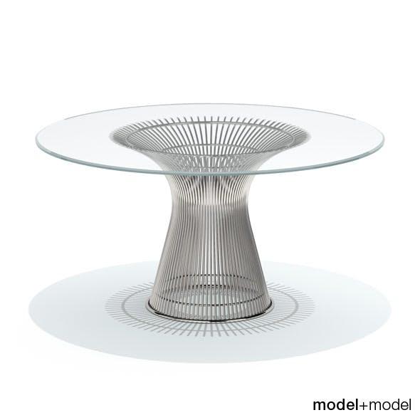 Knoll Platner dining table - 3DOcean Item for Sale