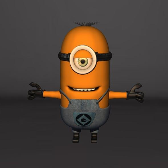 Minion 3D Model Design