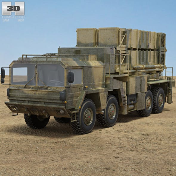 MIM-104 Patriot - 3DOcean Item for Sale