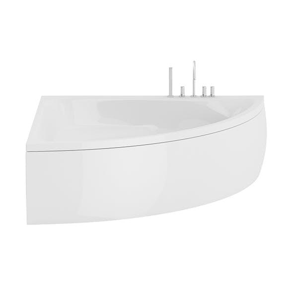 Corner Bathtube - 3DOcean Item for Sale