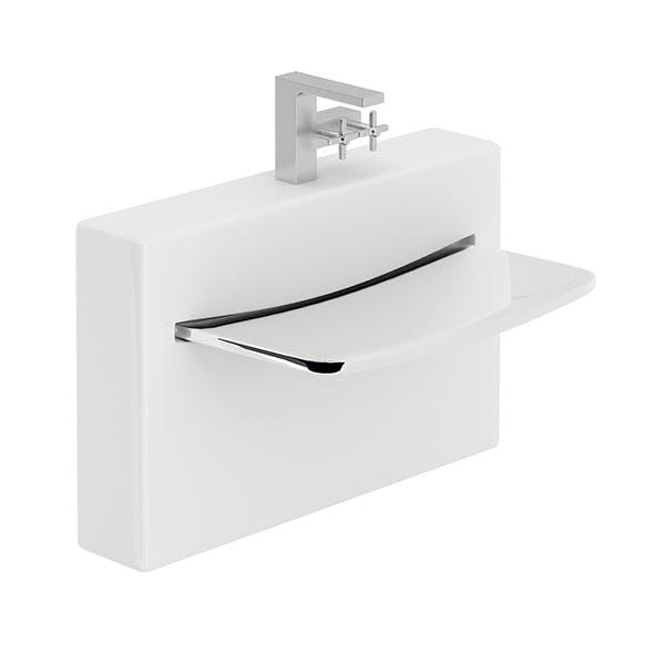 Glass Washbasin - 3DOcean Item for Sale