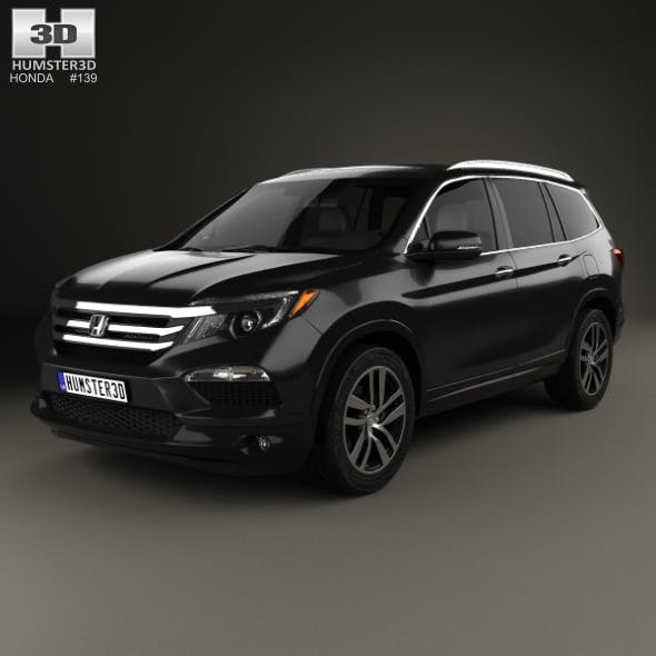 Honda Pilot Elite 2016 - 3DOcean Item for Sale