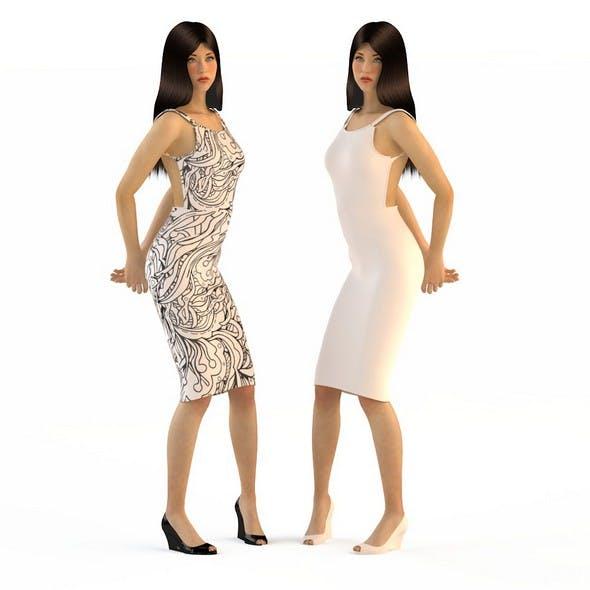 Women in dresses 4