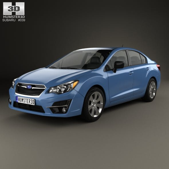 Subaru Impreza 2015 - 3DOcean Item for Sale