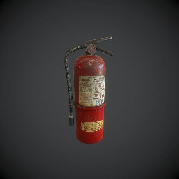 Fire extinguisher pbr