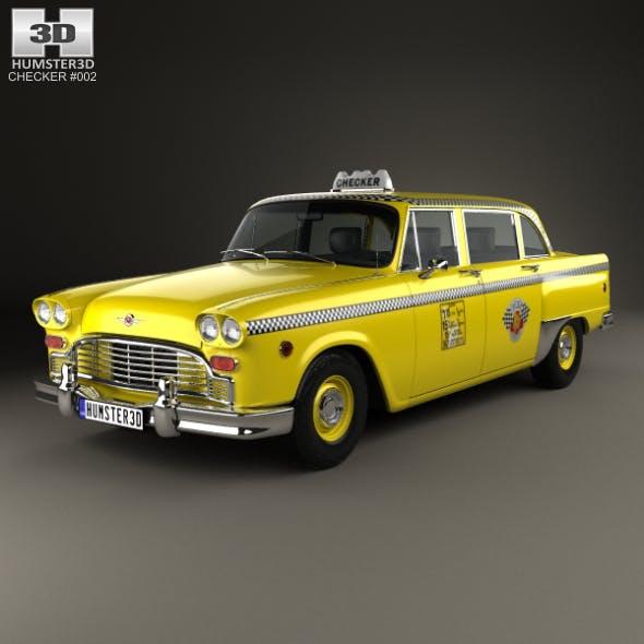 Checker Marathon (A12) Taxi 1978 - 3DOcean Item for Sale