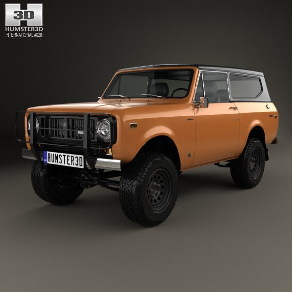 International Scout II 1976 - 3DOcean Item for Sale