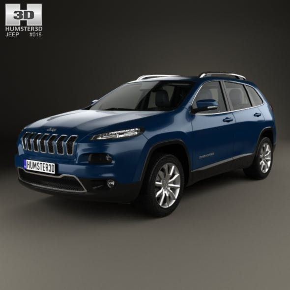 Jeep Cherokee Limited with HQ interior 2014
