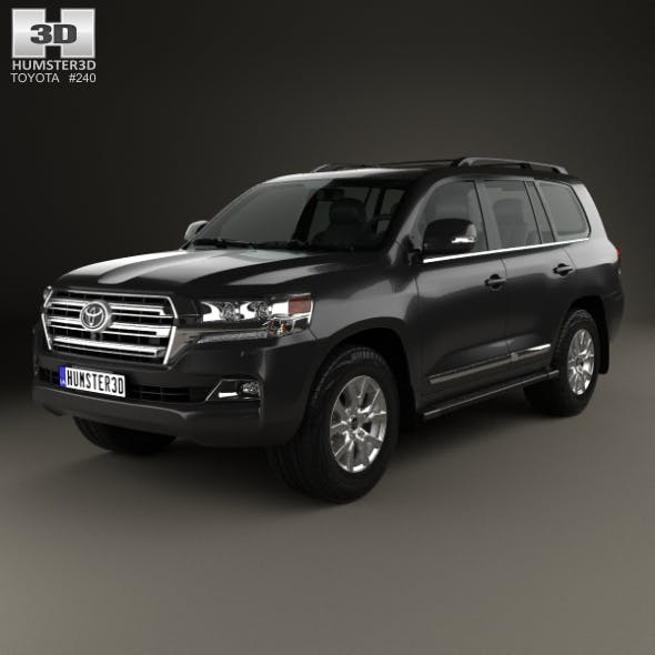 Toyota Land Cruiser (J200) 2016 - 3DOcean Item for Sale