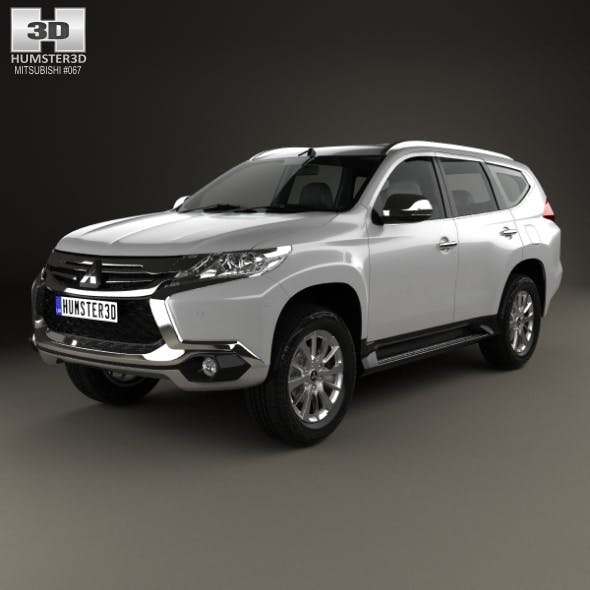 Mitsubishi Pajero Sport (TH) 2016 - 3DOcean Item for Sale